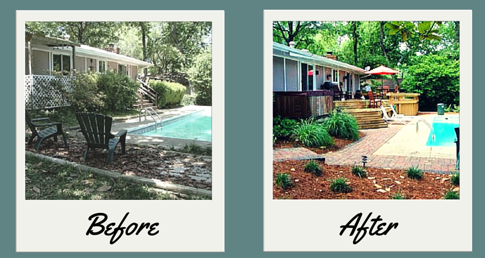 Before And After Pictures And Examples Dickerson Landscaping