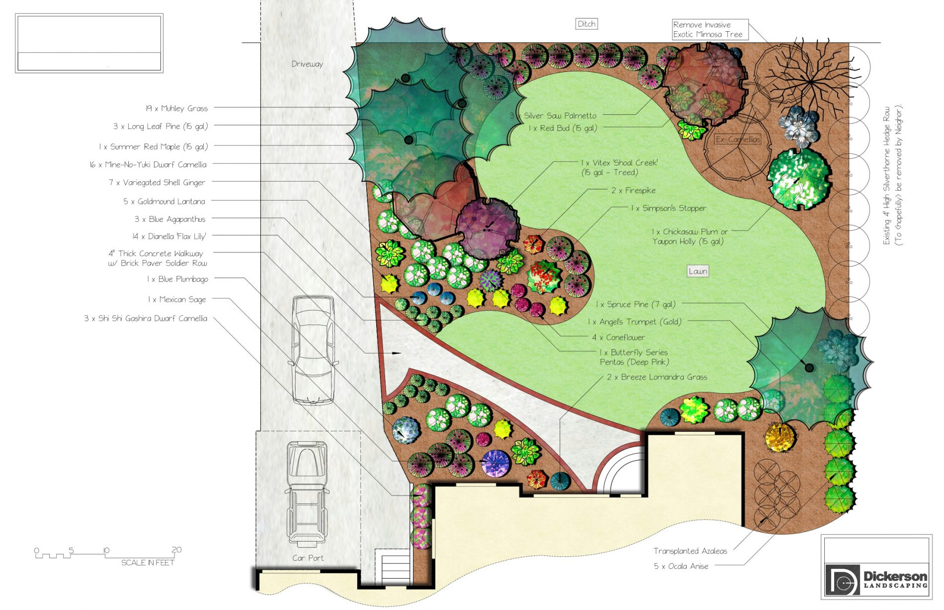 State Of The Art Design Plans Dickerson Landscaping