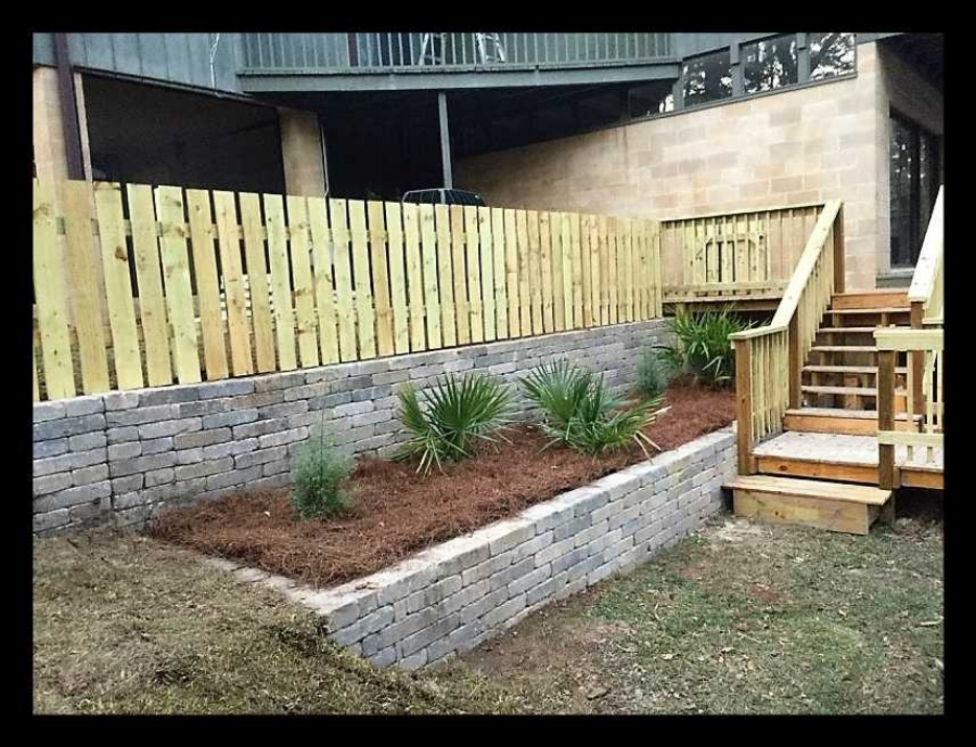 Retaining Walls Tallahassee Dickerson Landscaping